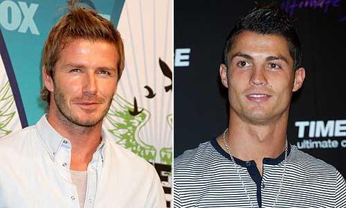 VS de stars 18 : David Beckham VS Cristiano Ronaldo !