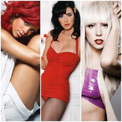 VS de stars 12 : Rihanna VS Katy Perry VS Lady Gaga !