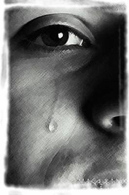 Un homme qui pleure est un homme qui aime sincerement
