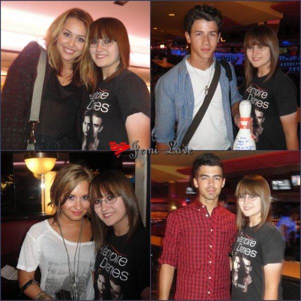 Le 16 Septembre 2010 Anniversaire de Nick Jonas & Concert à San Diego