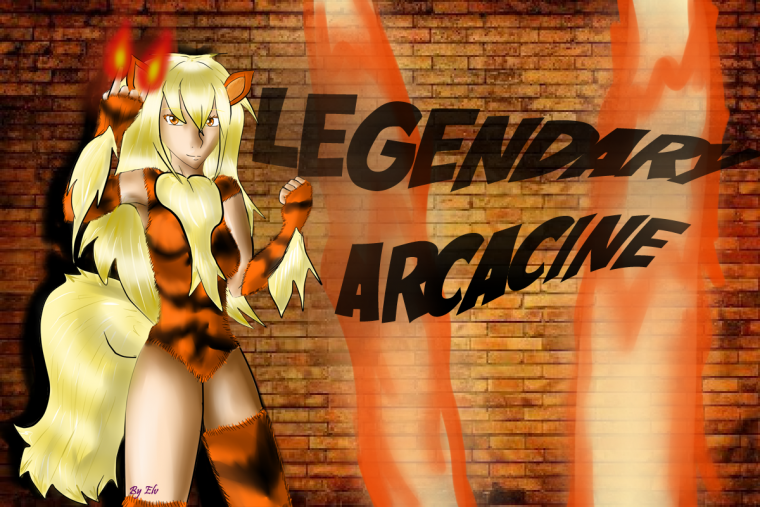 Moemon !! Legendary Arcanine