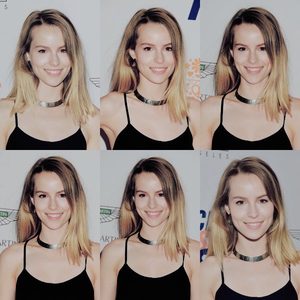 . ▬ 02/05/2014 : Bridgit était au 21st annual Race to Erase MS. .