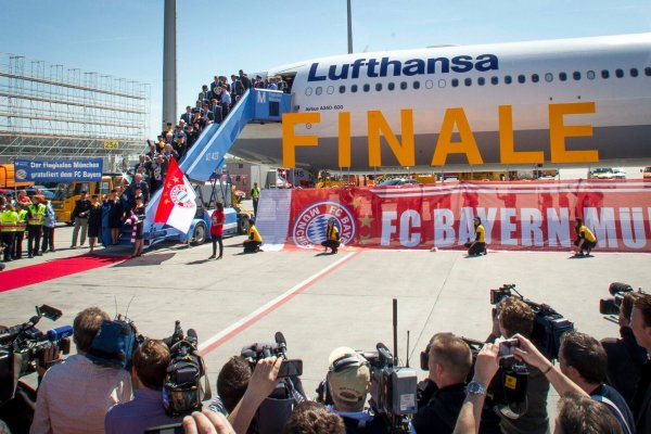 Article spécial: Lufthansa, Finale de Champion's league/Bayern Munich