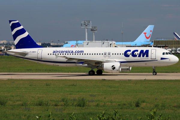 Airbus A320-216 Air Corsica - CCM Airlines