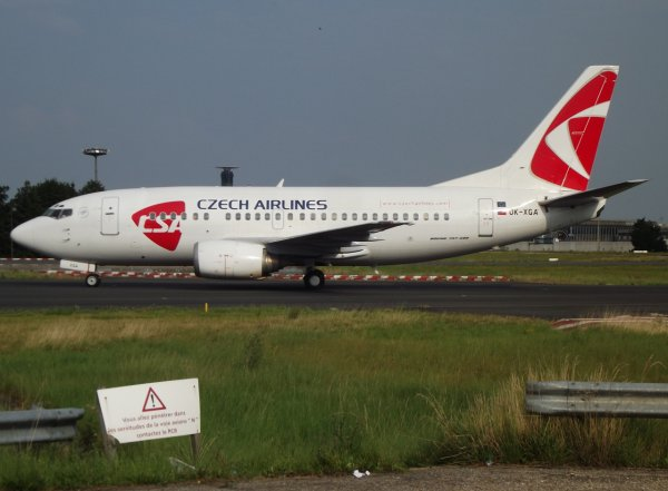 Boeing 737-55S CSA - Czech Airlines