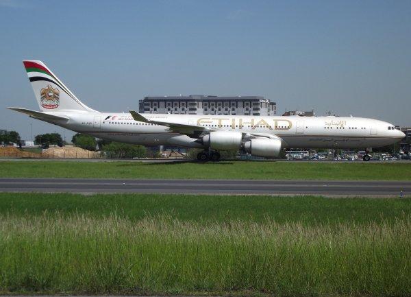 Airbus A340-541 Etihad Airways (EY)