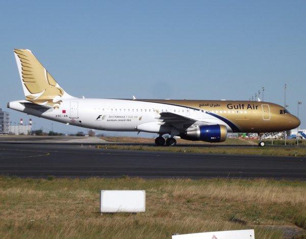 Airbus A320-214 Gulf Air (GF)