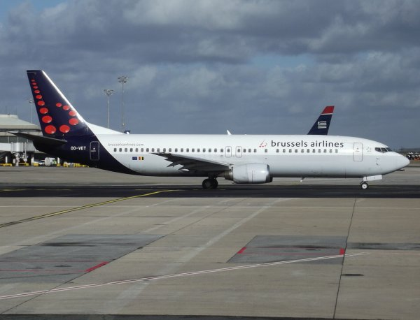 Boeing 737-4Q8 Brussels Airlines
