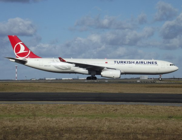 Airbus A330-343X Turkish Airlines
