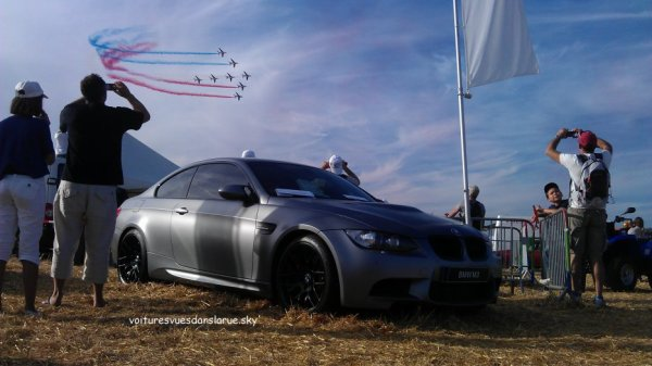 BMW M3 E90 + Alpha Jets - Patrouille de France