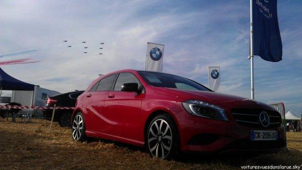 Mercedes Classe A + Alpha Jets - Patrouille de France