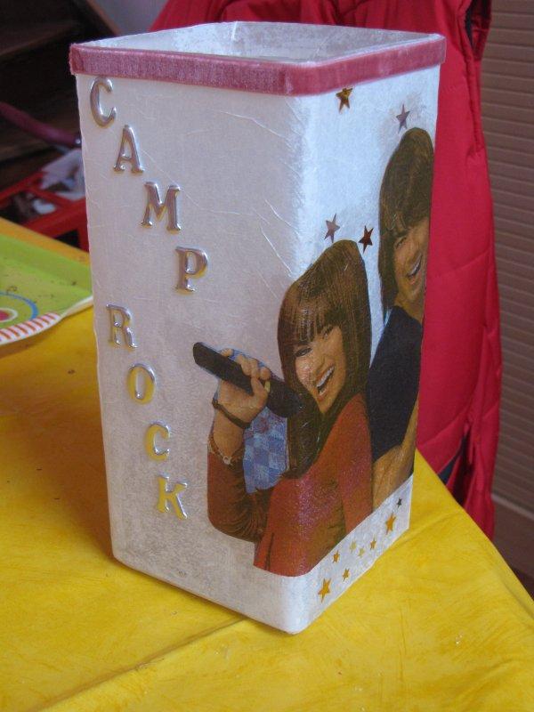 lampe camp rock
