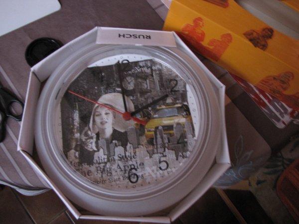 horloge ny