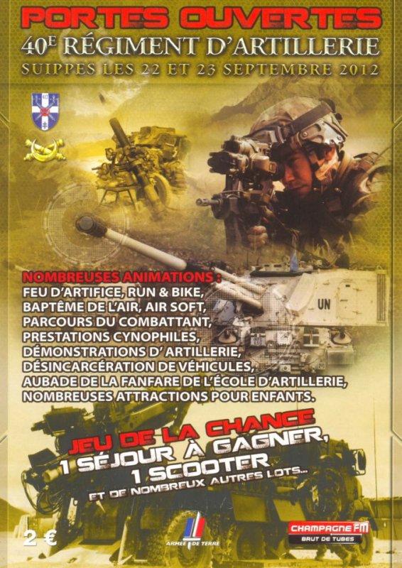 journée porte ouverte 40°régiment d'artillerie