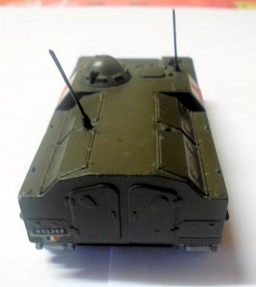 rétro ma passion les miniatures militaire 5éme parti les véhicules lourd