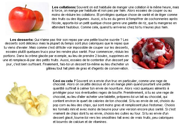 Trucs & Astuces: L'alimentation