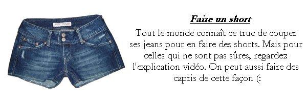Spécial Jour de la Terre: Recycles tes vieux jeans !