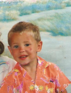kevin a l'age de 4 ans