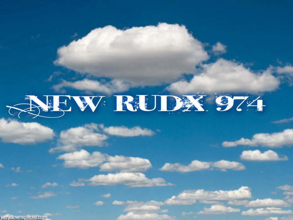 New rudx 974