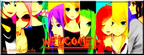 ~Welcome to the world of Vocaloid~