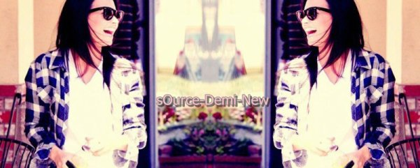 Bienvenue sur sOurce-Demi-New, ta meilleure source d'actualité sur Demi Lovato !