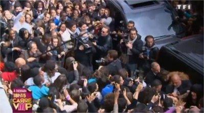 Les ViiiP provoquent une vraie cohue à Paris