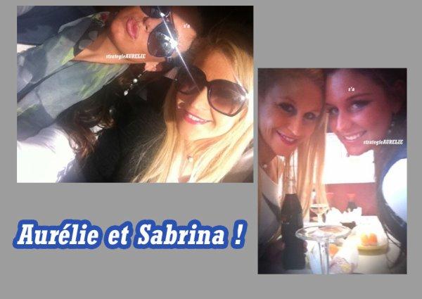 - Aurélie chez Sabrina + photo exclu de son tatoo + 5ème twitcam.