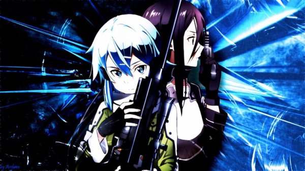 Sword Art Online II - GGO.