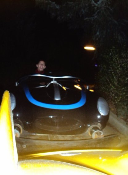 moi dans les voiture  disnay