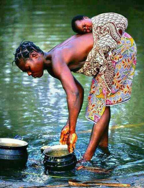 Femme noire, femme africaine,