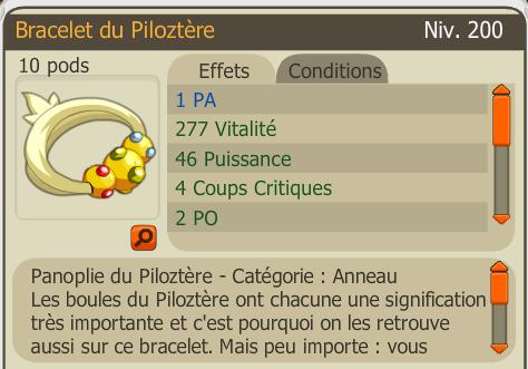 Bracelet Piloztere PA 20 runes