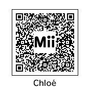 Mon QR code de ma mii