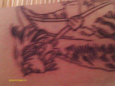 mon nouveau tatouage fit le 05 01 2012