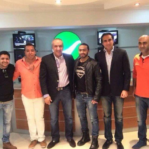 تامر حسني مع سالم الهندي واداره شركه روتانا