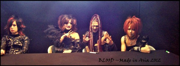 ♪ BLOOD ~ Made in Asia 2012