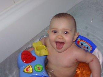ma princesse dans son bain