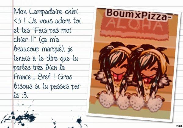 Jenny, alias Boumii Lampadaire Matata ♥.
