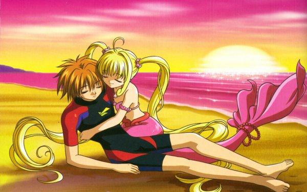 Images de couples d'animés