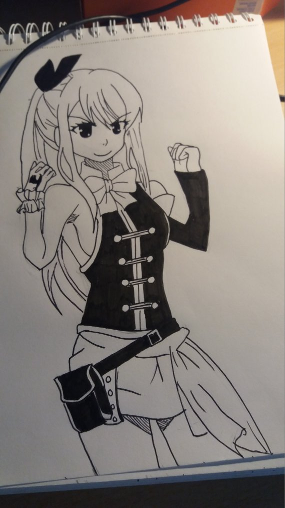 Lucy Fairy Tail Dessin