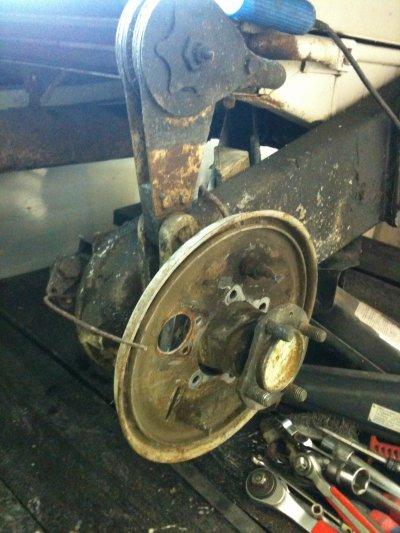 quelques photo du demontage nettoyage du prim et de l'APE ya du boulot !