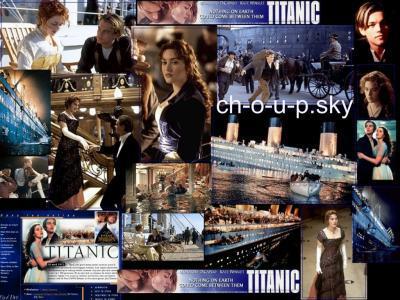 Le cinema c'est comme CH-O-U-P.sky à chaque page une nouvel histoire .. cette page histoire de titanic.. on CH-O-U-P.sky®