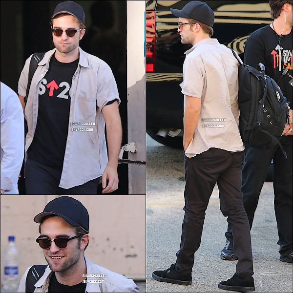 "7/09/2012- Le très sexy Rob Pattinson quittait le ""Stand up Cancer""."