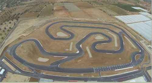 Nouvaeu circuit a Valencia Kartodromo