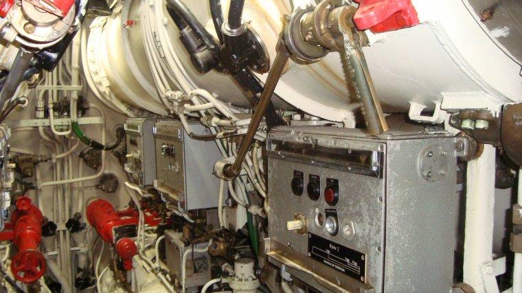 Retour de mon voyage - visite de sous-marin