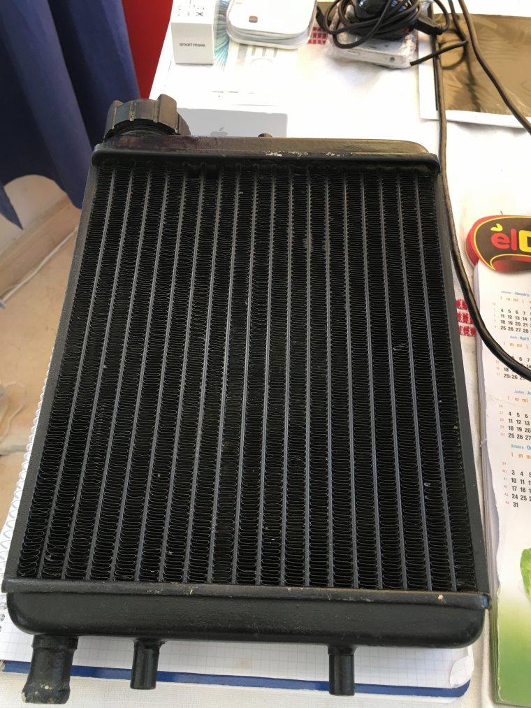 Radiateur pour XG2 , future Phase II