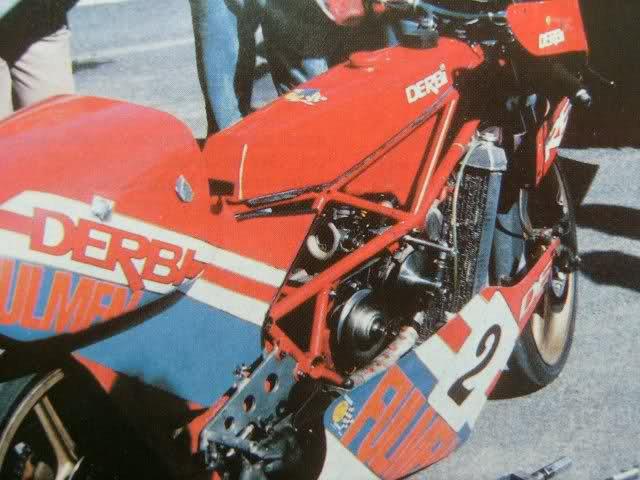 DERBI GP 80 cc Autamtique Variateur 50cc