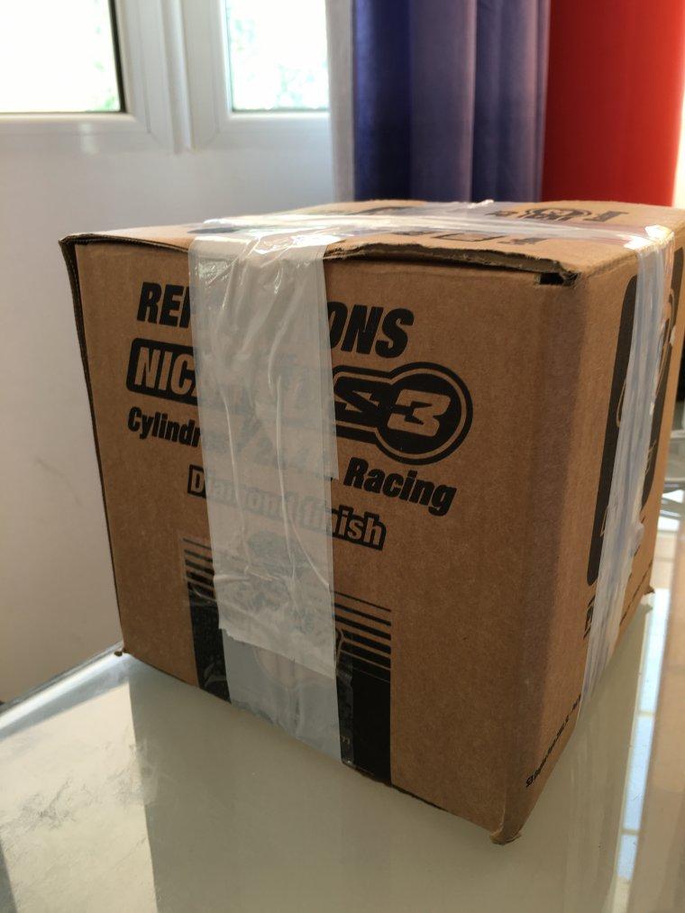 Mathias ,ton paquet est emballé, prêt de te l'envoyer