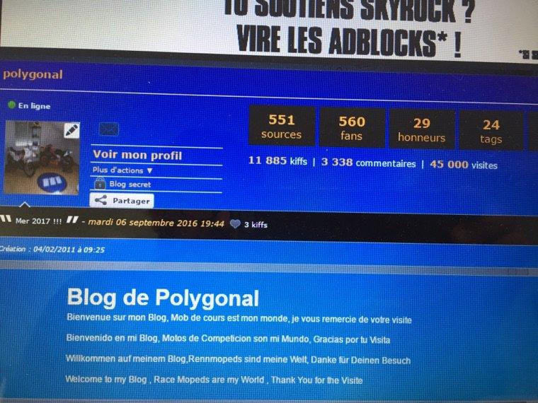 45000 visite , merci de l'Espagne à tous les bloggeurs , vive les mob