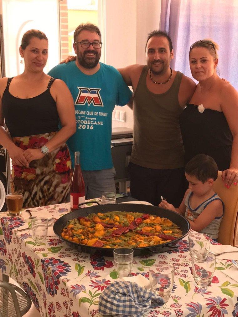 Merci à Gaby et sa famille de sa visite