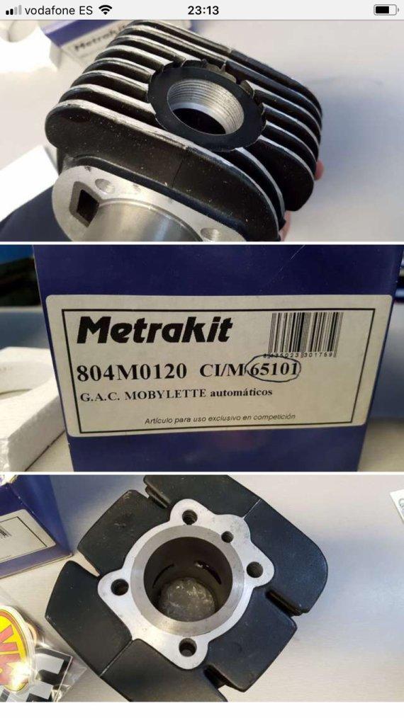 Mobylette Metrakit